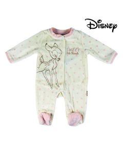 Pelele de Manga Larga para Bebé Disney 74622 Blanco 0