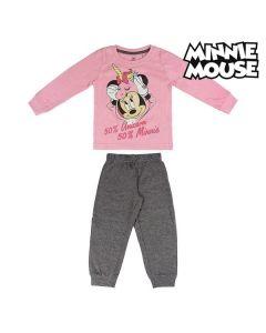 Pijama Infantil Minnie Mouse 74175 Rosa 0