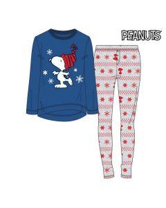 Pijama Snoopy Mujer Azul 74851 0