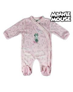 Pelele de Manga Larga para Bebé Minnie Mouse 74621 Rosa 0