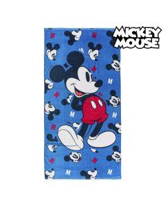 Toalla de Playa Mickey Mouse 75491 Algodón Azul marino 0