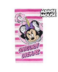 Toalla de Playa Minnie Mouse 75493 Algodón Rosa 0