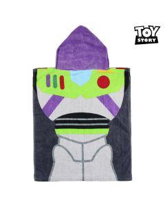 Poncho-Toalla con Capucha Buzz Toy Story 75515 Algodón 0