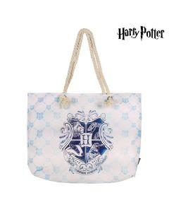 Bolsa de Playa Harry Potter 72925 Turquesa Algodón 0