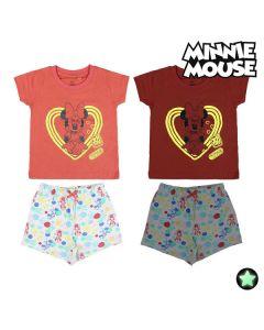 Pijama Infantil Minnie Mouse Brilla en la oscuridad 0