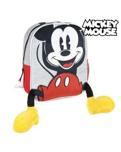 Mochila Infantil 3D Mickey Mouse Gris Rojo 0