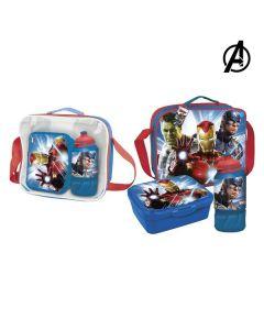 Portameriendas con Accesorios The Avengers Azul 0