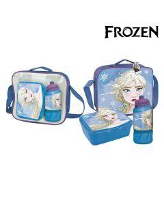 Portameriendas con Accesorios Frozen Azul 0