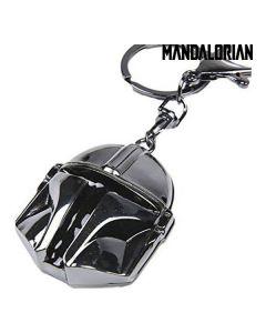Llavero 3D The Mandalorian Plateado Silver 0