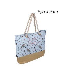Bolsa de Playa Friends Azul claro 0