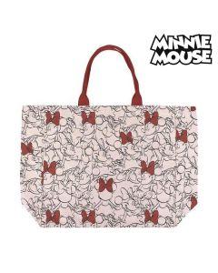 Bolso Minnie Mouse Asas Rojo Beige 0