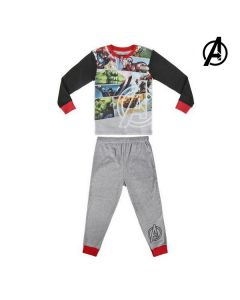 Pijama Infantil The Avengers 72304 Gris 0
