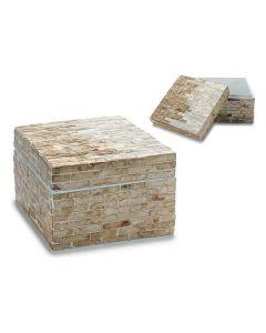 Caja Gift Decor Plata (15,5 x 10 x 15,5 cm) 0