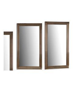Espejo de pared Madera Vidrio Dorado (75 x 3 x 135 cm) 0