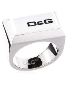Anillo Unisex D&G Plateado 0
