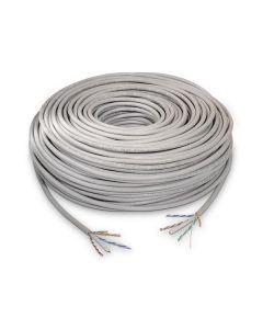 Cable de Red Rígido UTP Categoría 6 NANOCABLE 10.20.0502 100 m Gris 0
