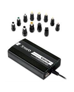 Cargador para Portátil TooQ TQLC-100BS01M LED 100W Negro 0