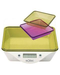Báscula Digital de Cocina Solac BC6260 0