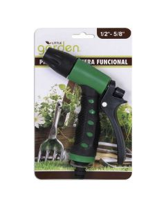 Pistola de Riego Little Garden Verde Negro (22 X 14 x 3 cm) 0