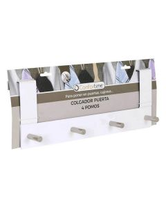 Perchero para Puertas Confortime (4 Colgadores) (37 X 13,4 x 8,5 cm) 0