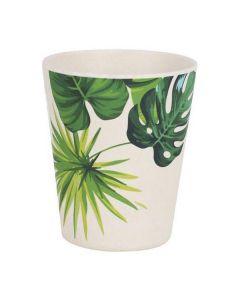 Vaso Privilege Bambú Blanco Verde 0