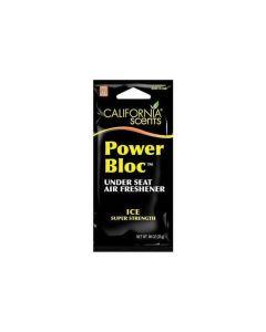 Ambientador para Coche California Scents Power Bloc Ice 0