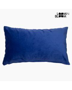 Cojín Velvet (30 x 50 x 10 cm) Poliéster Azul 0