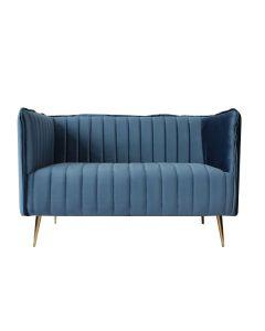 Sofá de 2 Plazas Art Deco Lines (126 x 73 x 78 cm) 0