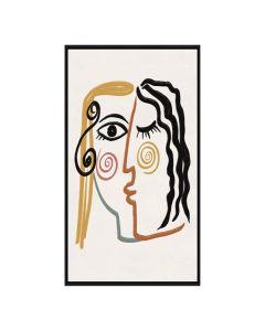 Lienzo Picasso (80 x 4 x 60 cm) 0