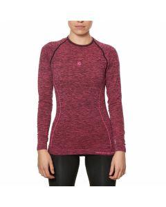 Camiseta Térmica para Mujer Sport Hg Hg-8052 Negro Magenta 0