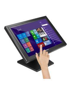"Monitor con Pantalla Táctil iggual MTL15B 15"" LCD XGA USB Negro 0"