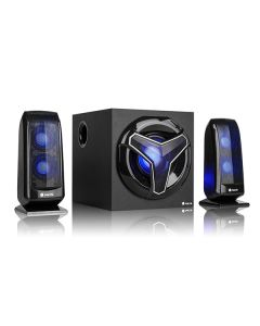Altavoces Gaming 2.1 NGS GSX-210 Bluetooth 80W Negro 0