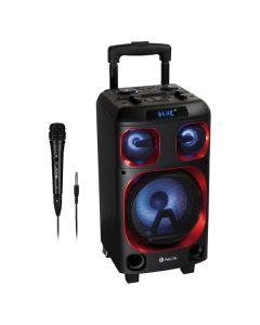 Altavoz Bluetooth Portátil NGS WILDSKAZERO 120W Negro/Rojo 0