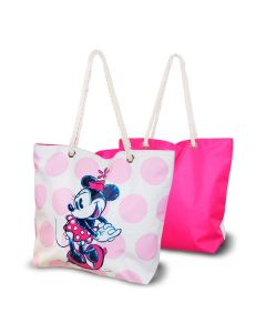 Bolsa de Playa Minnie Mouse Rosa (33,5 x 43 cm) 0