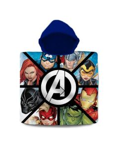 Poncho-Toalla con Capucha The Avengers Algodón (60 x 120 cm) 0