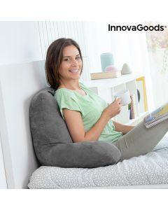 Almohada de Lectura con Apoyabrazos Huggilow InnovaGoods 0