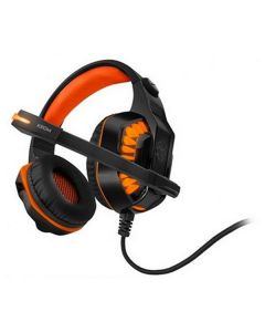 Auriculares con Micrófono Gaming KROM NXKROMKNR Konor Ultimate   Naranja/Negro