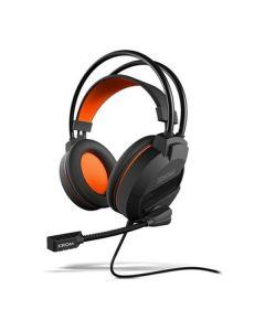 Auriculares con Micrófono Gaming Krom NXKROMKHAMI Negro Naranja