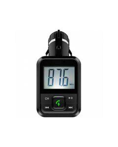 Reproductor MP3 y Transmisor FM Bluetooth para Coche BSL BSL-24 Manos libres Negro