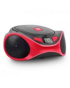 Radio CD MP3 SPC 4501R CLAM BOOMBOX USB Rojo 0