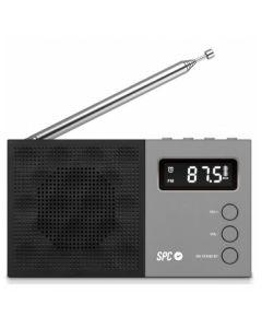 Radio SPC 4577N FM LCD Negro 0