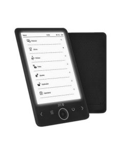 "eBook SPC 5610N 6"" 4 GB SD Negro"