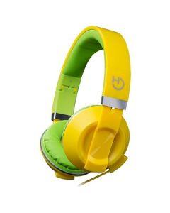 Auriculares con Micrófono Hiditec COOL KIDS WHP010006 Amarillo 0