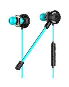 Auriculares con Micrófono Gaming Hiditec GHE010002 (3.5 mm) Negro Azul 0
