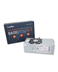 Fuente de Alimentación CoolBox COO-FA500TGR 500W 0