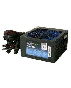 Fuente de Alimentación Gaming CoolBox COO-FAPW700-BK 700W 0