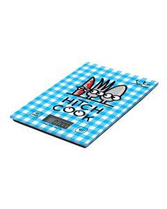 Báscula Digital de Cocina JATA 732K Kukuxumusu 5 Kg Azul 0