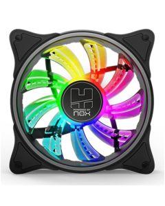 Ventilador de Caja Gaming NOX A-Fan ARGB Ø 12 cm 0