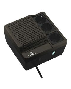 SAI Off Line CoolBox SAICOOSC600B 300W Negro 0