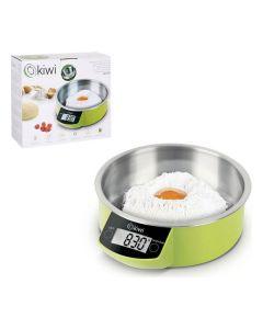 Báscula Digital de Cocina Kiwi Verde 0
